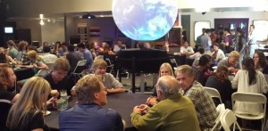 Open House Day dinner at Fiske Planetarium