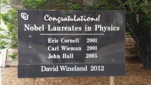 CU Physics Laureates