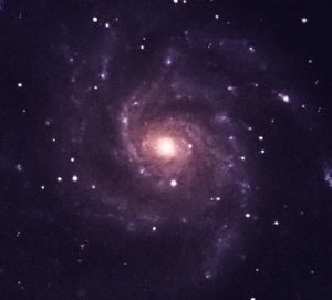Galaxy M101, imaged by students of SSP 2016 @ NM Tech